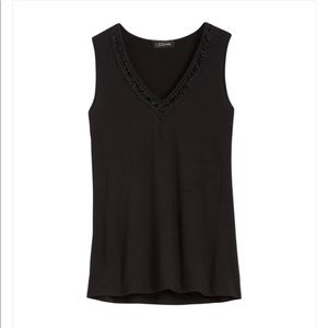 Colette Tops - Colette | Black Tank Top
